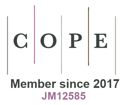 COPE Member since 2017 JM12585